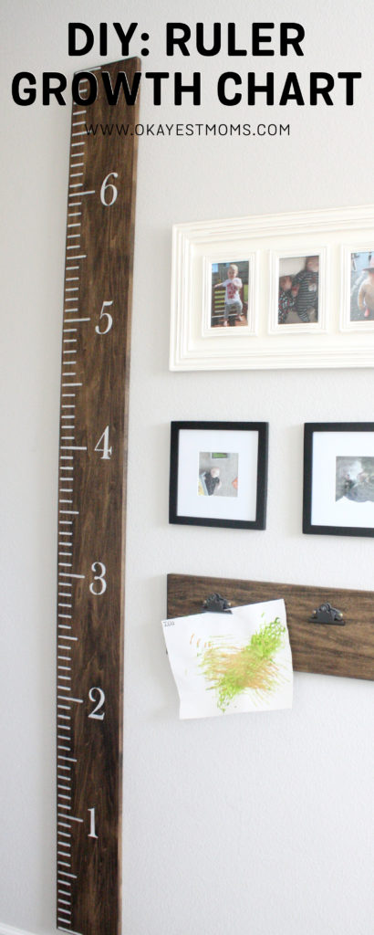 Diy Ruler Growth Chart Okayest Moms