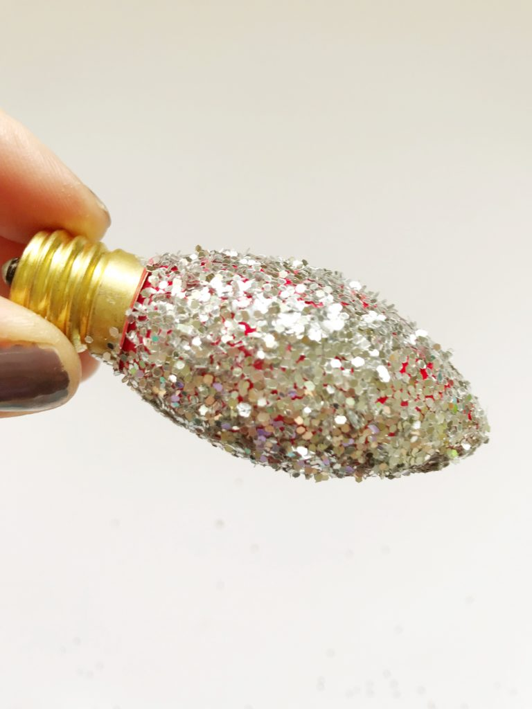 DIY glitter lights