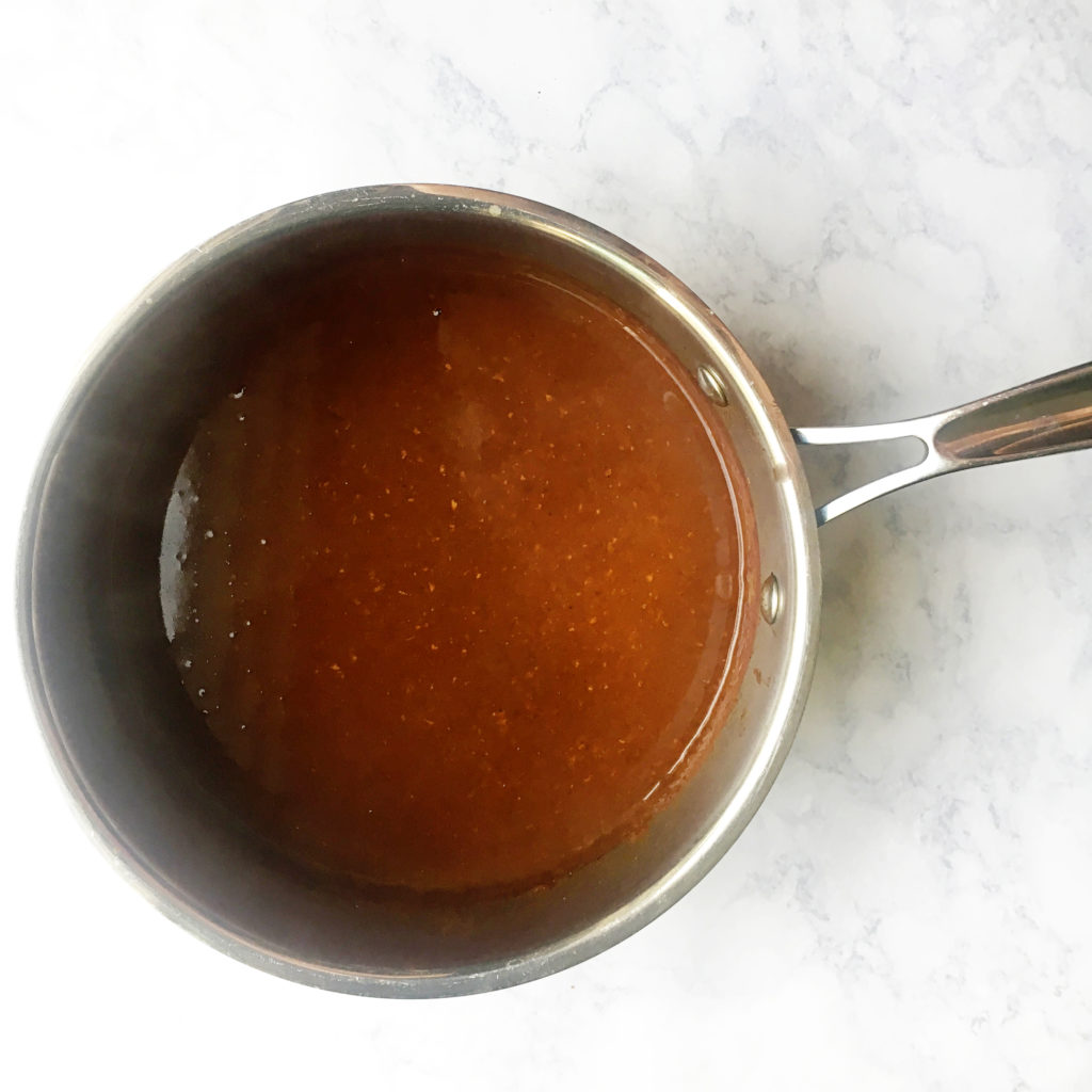 completed enchilada sauce