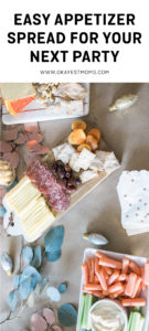 Easy appetizer spread for your next party   www.okayestmoms.com