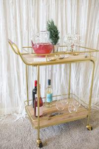 pink lemonade champagne punch