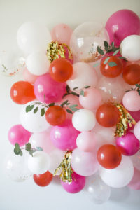 DIY Balloon Wall