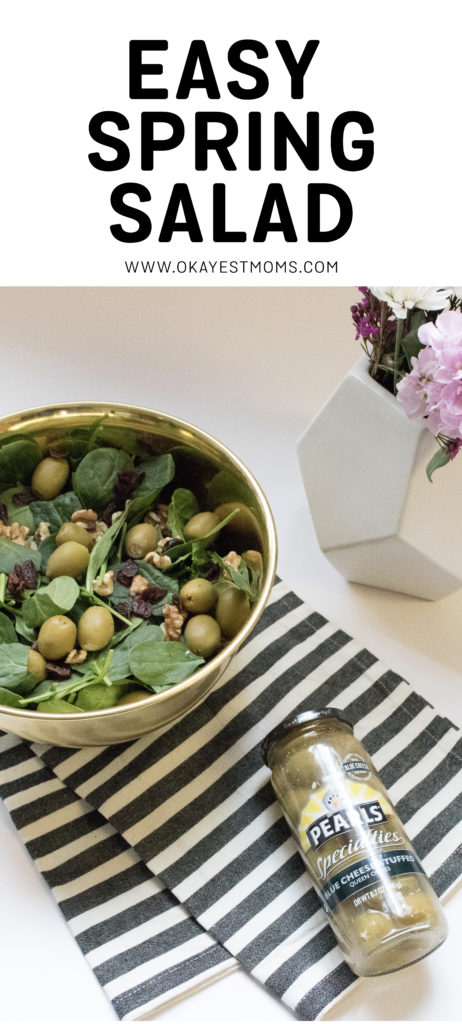 Pearls Specialty Olive spring salad