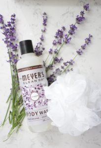 mrs meyers lavender body wash