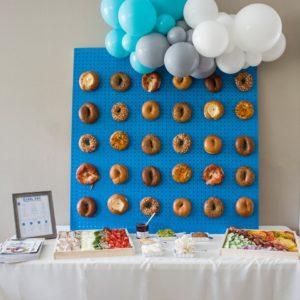bagel board display for bagel bar