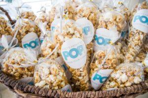 ready to pop popcorn baby shower favor