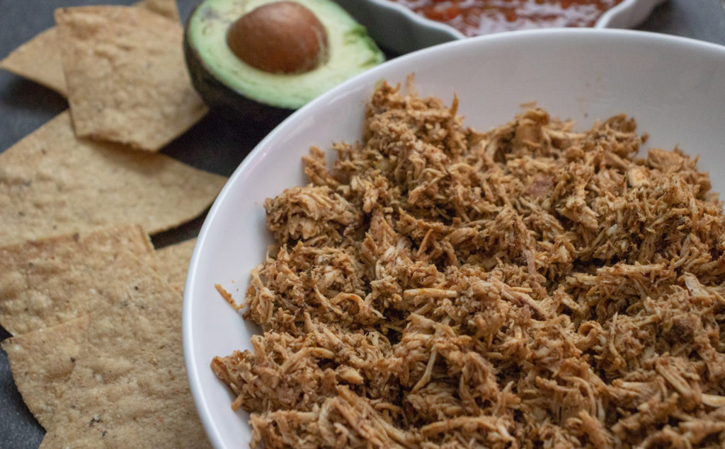 easy crockpot mexican chicken
