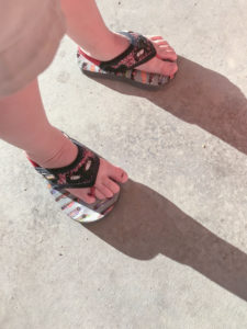 shoes on wrong feet