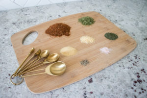spices used to make crockpot mexican chicken