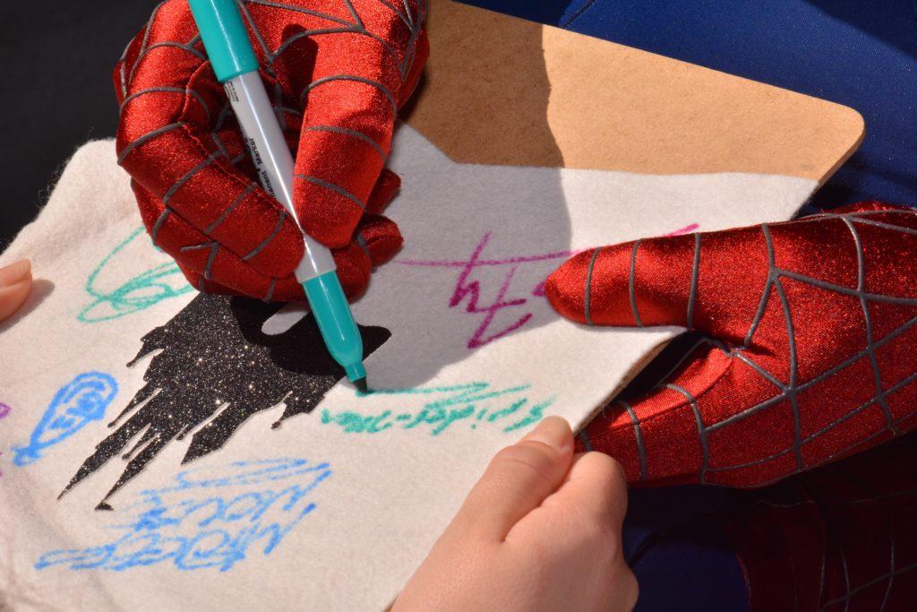 autograph banner for Disney
