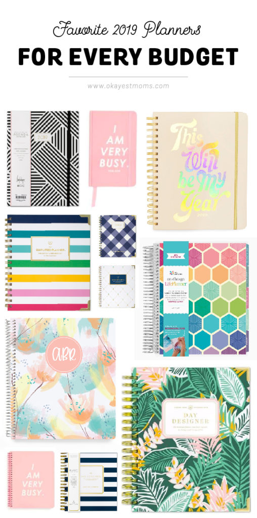 best 2019 planners for every budget