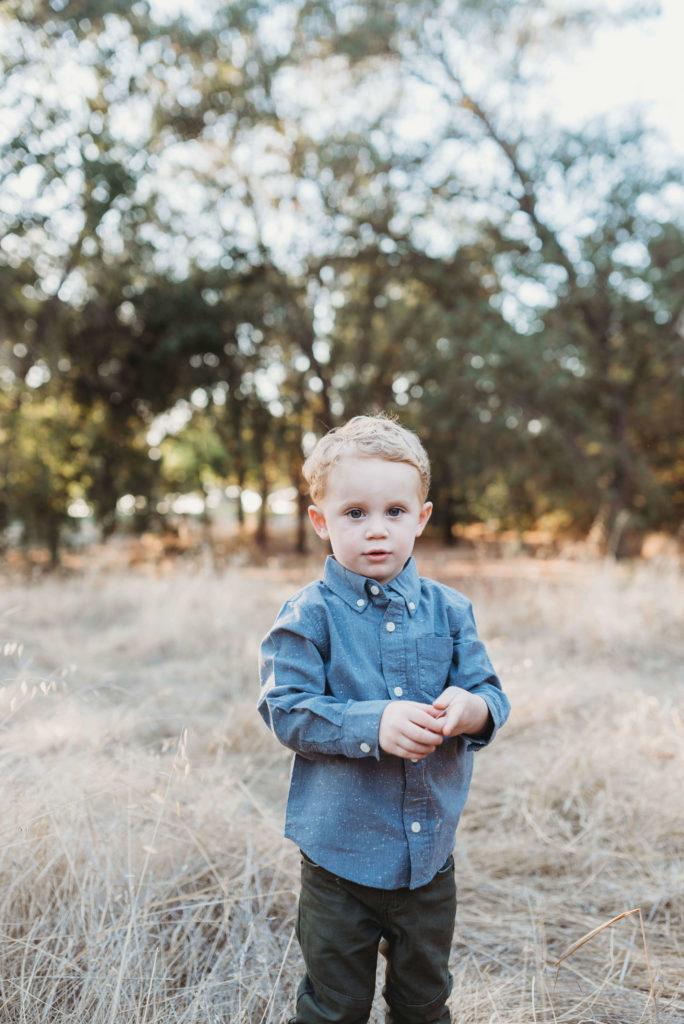 son at family photos