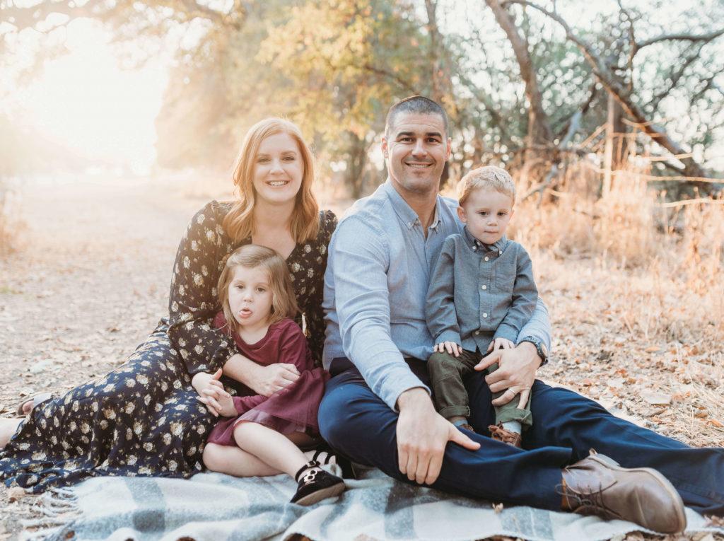 family photo outtake