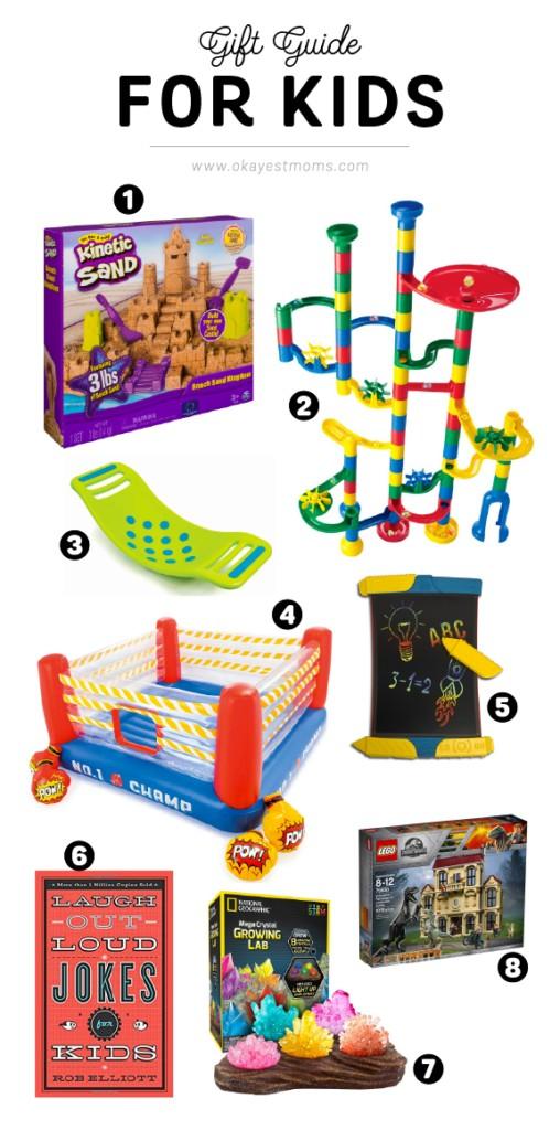 Gift Guide For Kids | www.okayestmoms.com