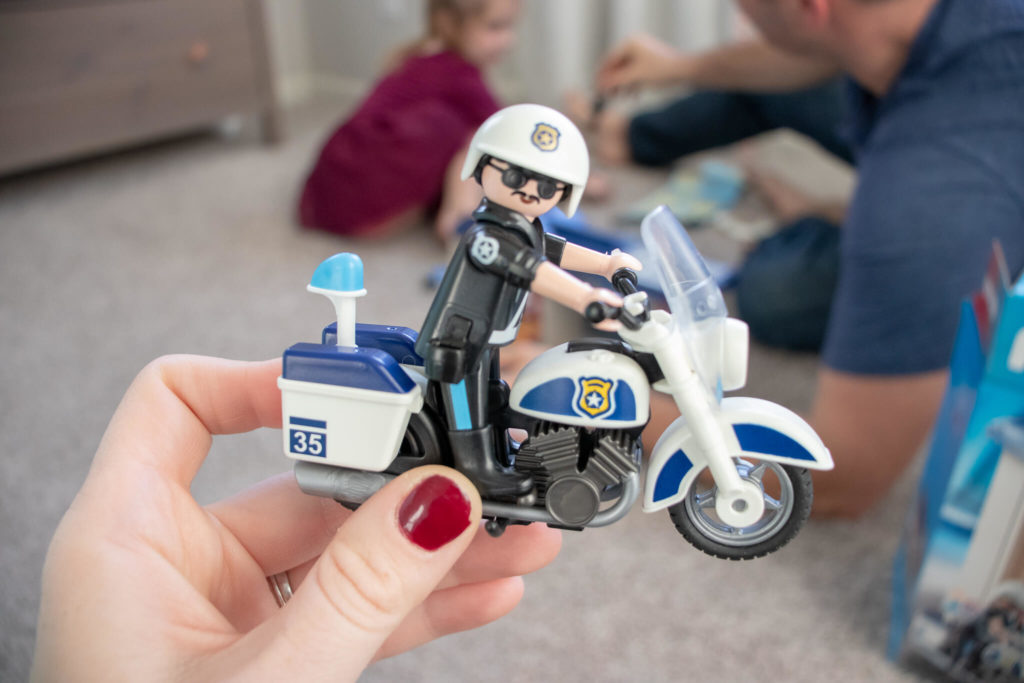 Playmobil is high quality