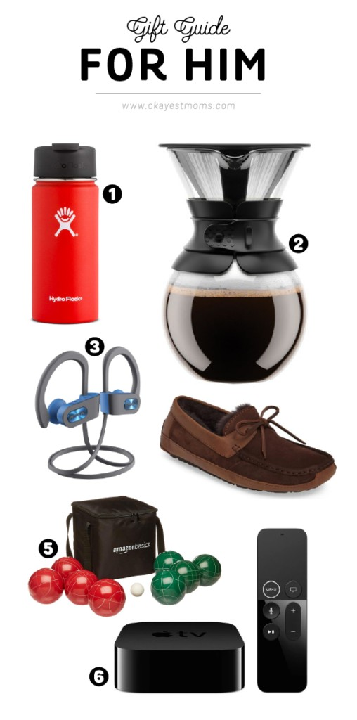 Gifts for him | www.okayestmoms.com