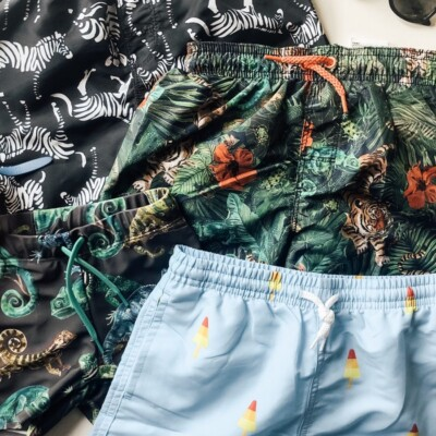 cutest swim trunks