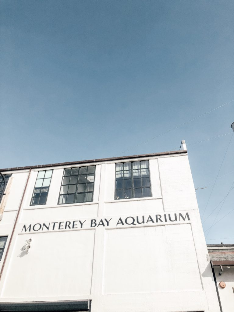 Monterey Bay Aquarium entrance