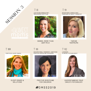 Session 3 Okayest Moms Summer Series Experts