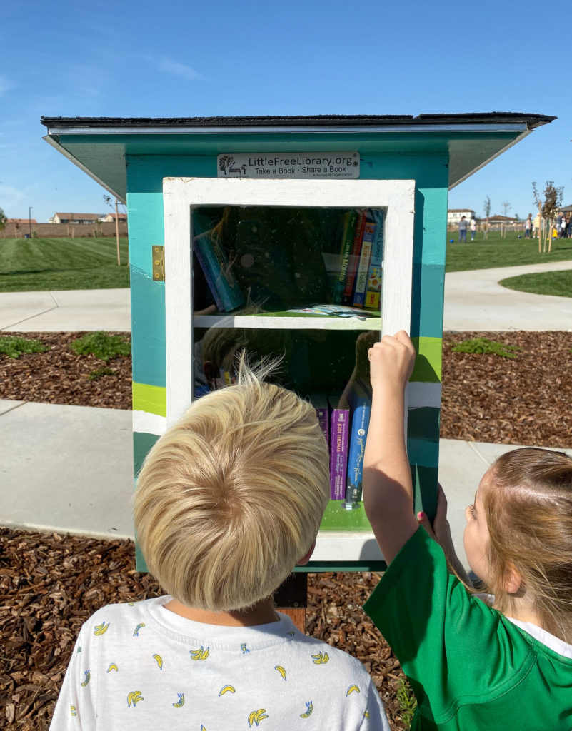 Free Library in Whitney Ranch