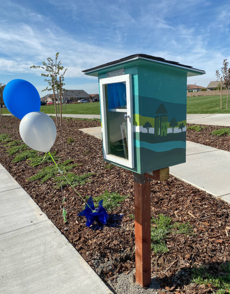Free Library located at Willard Park