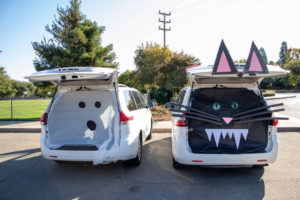 Trunk or Treat ideas for an Okayest Mom