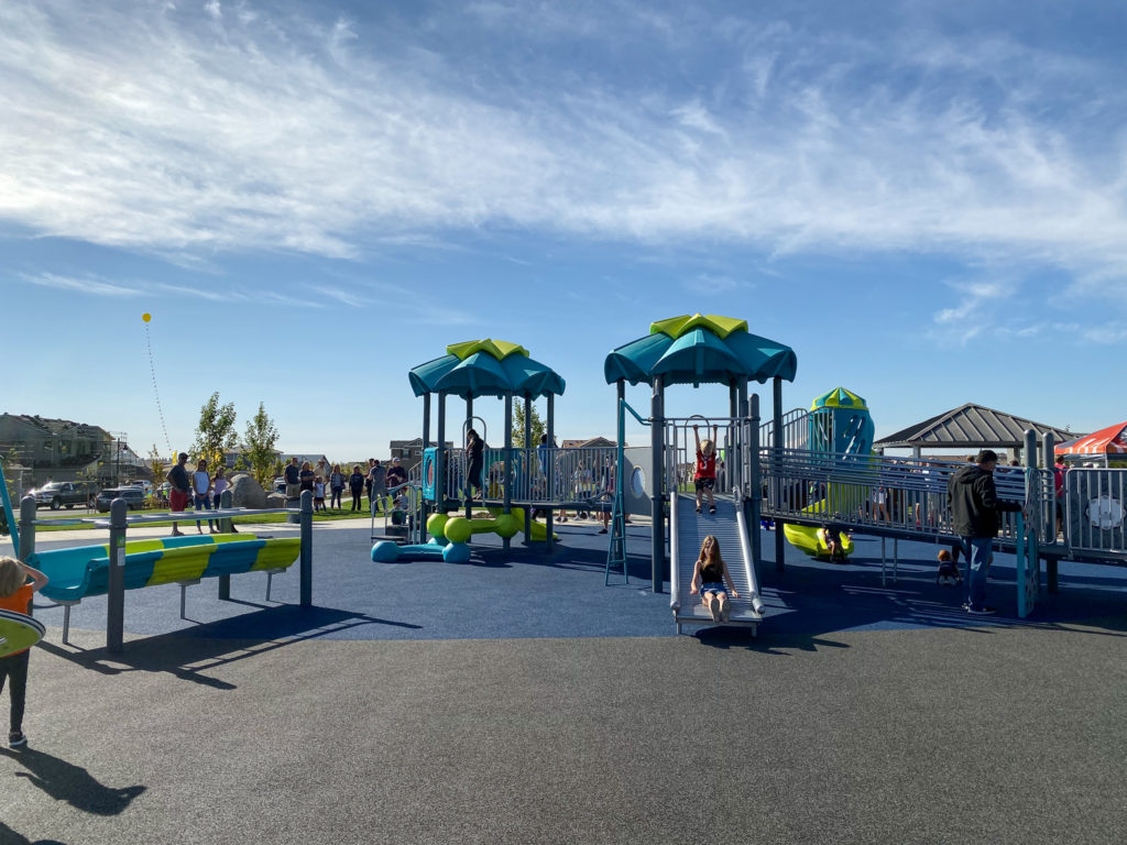 fully adaptive playground in Whitney Ranch
