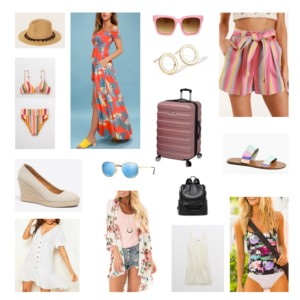 packing list for vacation
