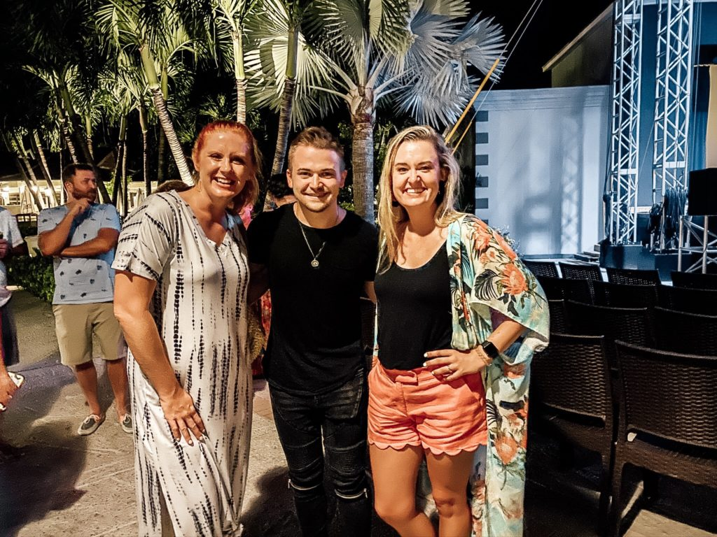 okayest moms with Hunter Hayes