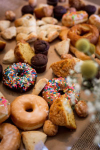 Pastries at Brunch Party- Okayest Moms