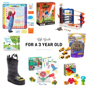 gift ideas for a 3 year old
