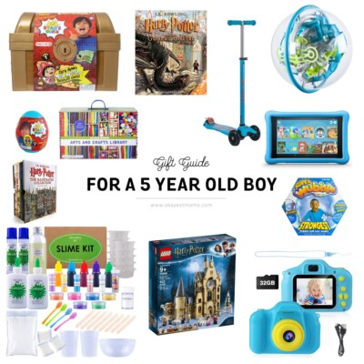gift ideas for 5 year old boy
