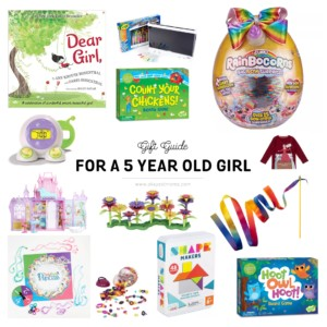 gifts for 5 year old girl
