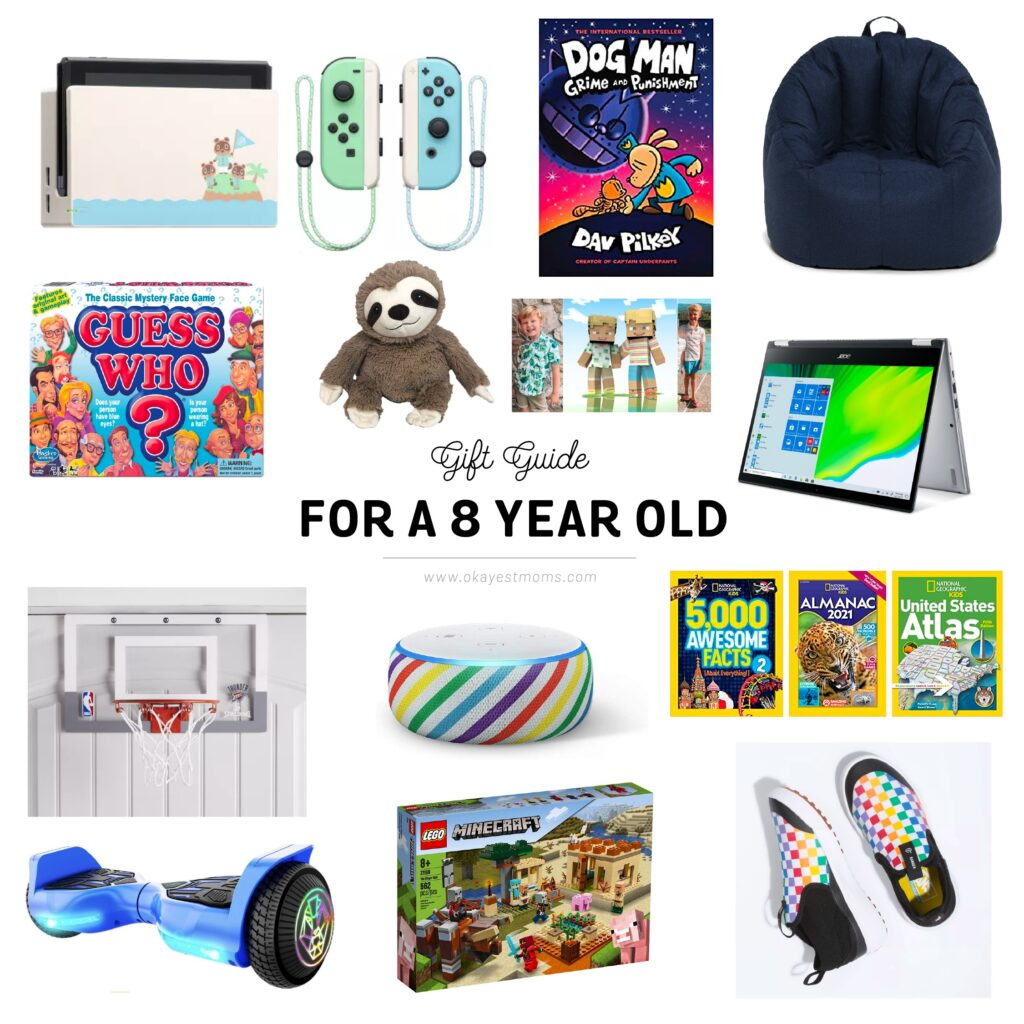 gifts for an 8 year old
