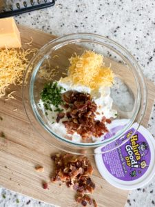 Loaded Bacon Cheddar Ranch Dip