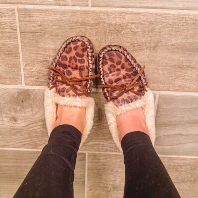 J. Crew moccasin slippers