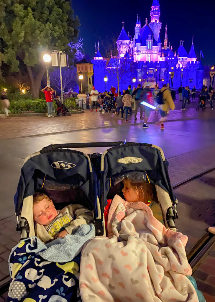 Cozy blankets are a must for your Disneyland stroller