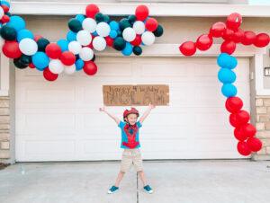 Spider-Man Quarantine Birthday Parade