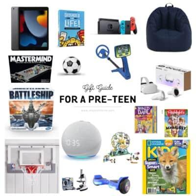 pre-teen gift ideas