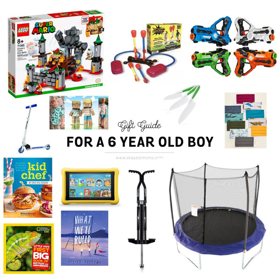 gift ideas for 6 year old boy