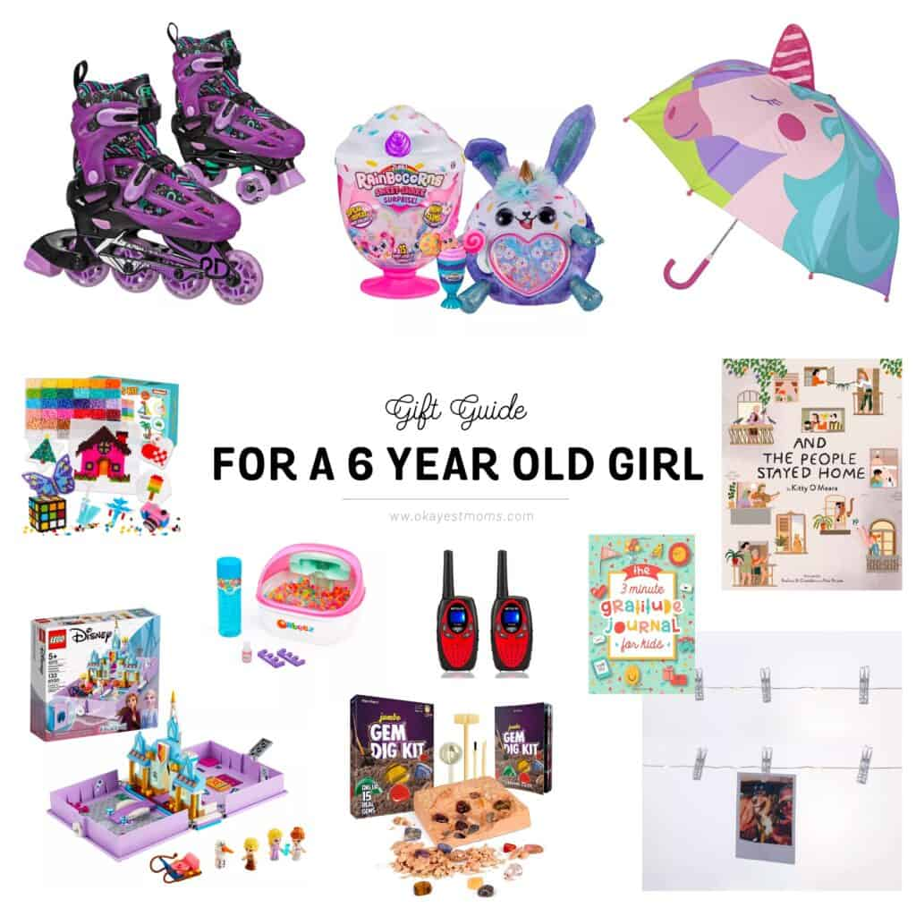 gifts for a 6 year old girl
