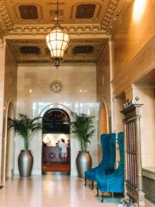 The Citizen hotel lobby