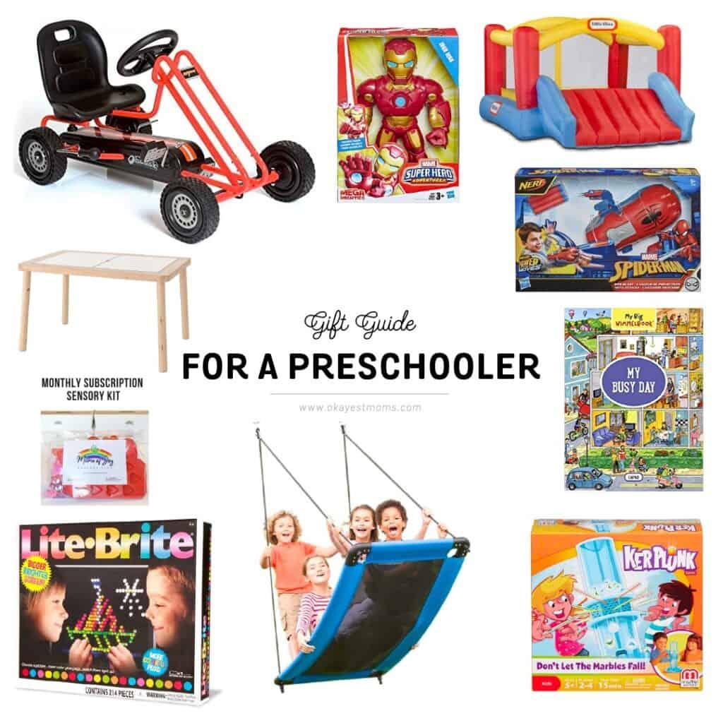 gift guide for preschooler