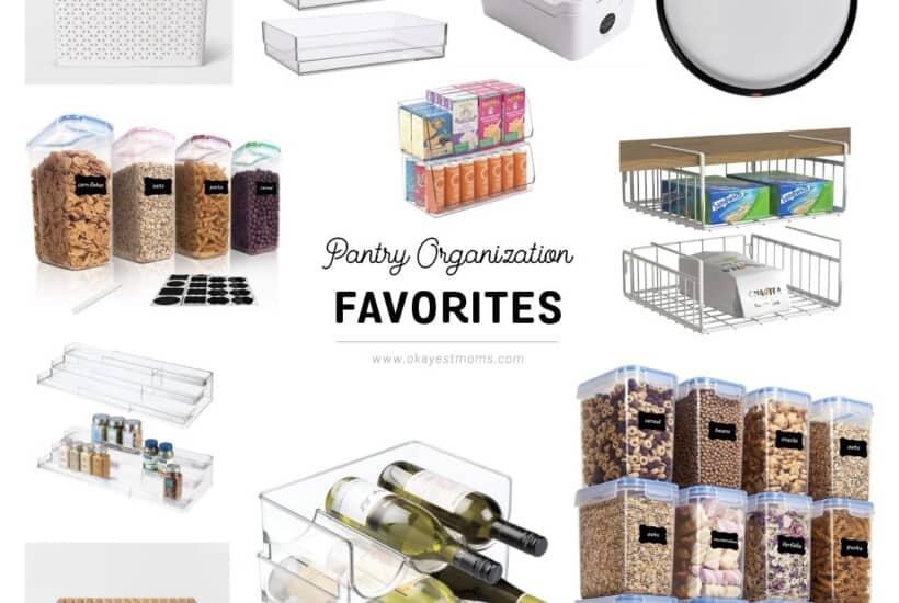 pantry organization favorites graphic