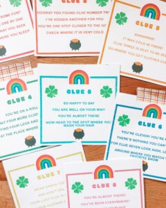 Leprechaun Hunt Printable