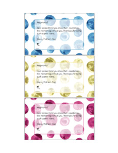 Free Printable Gift Tags for Your Mom Friends