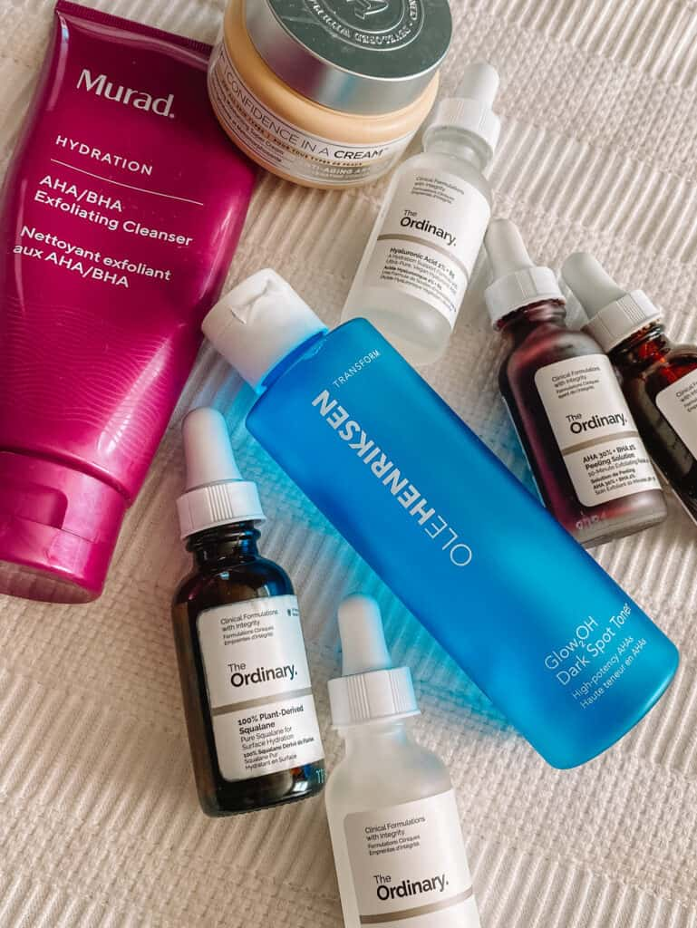 Skincare favorites from Sephora