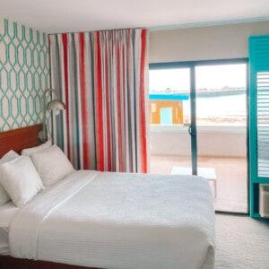 room at The Dream Inn Santa Cruz
