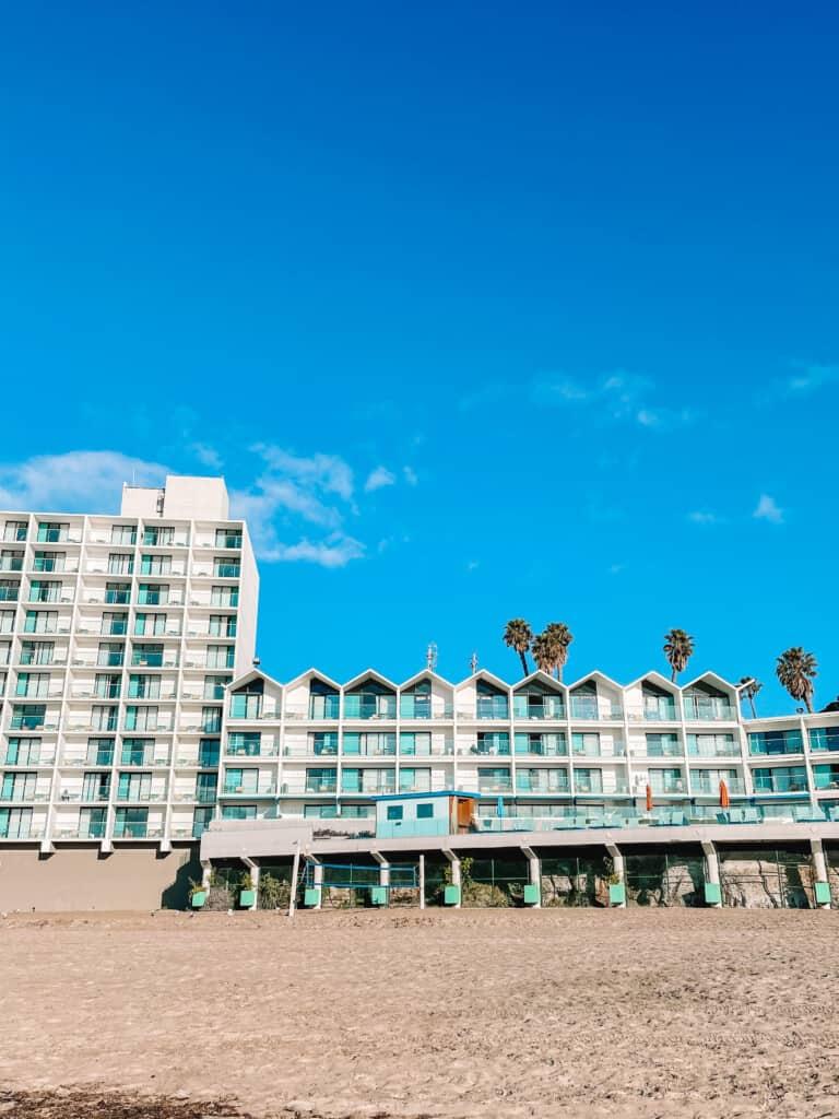 tower and main hotel Dream Inn