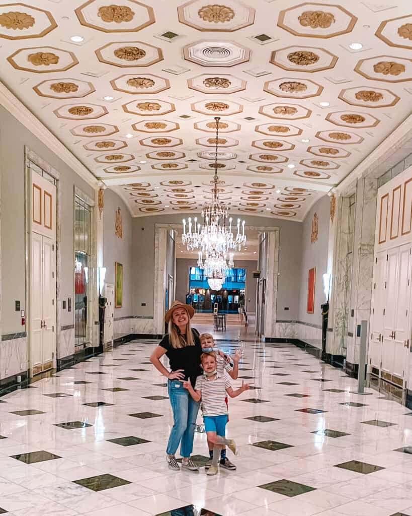 family at the mayflower hotel dc